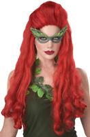 Lethal Beauty Poison Ivy Batman Adult Women Costume Wig