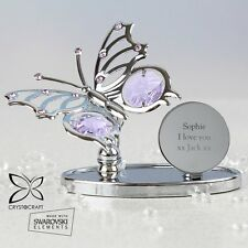 Crystocraft Butterfly Ornament - Personalised