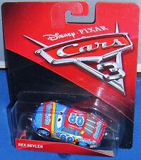 CARS 3 - REX REVLER racer GASK-ITS TEAM -  Mattel Disney Pixar