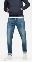 G-Star New Jack Cover Loose Tapered Blue Jeans UK Mens Size 29 *19