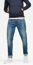 G-Star New Jack Cover Loose Tapered Blue Jeans UK Mens Size 29 *11