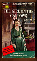The Girl On The Gallows, Patrick, vintage 1954 Gold Medal GGA sleaze EX