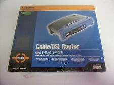 Linksys Wired Cable/Dsl Router With 8 Port Swich.No. Befsr81