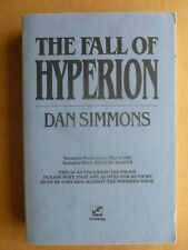 THE FALL OF HYPERION Dan Simmons SIGNED Uncorrected Proof of 1st edition *vfine*