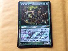 Misprint Foil Force of Nature PRERELEASE Miscut MTG Magic Card