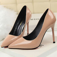 Women Summer Pumps Sandals High Stiletto Heels Classic Pointed Toe Party Shoes