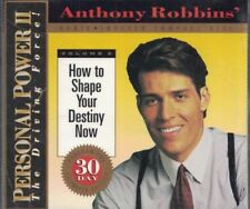 Anthony Robbins Personal Power II Volume 2 How to Shape your Destiny Now CD Set