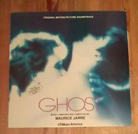 Maurice Jarre ‎– Ghost - OST Soundtrack Vinyl LP Album 33rpm 1990 Milan - FA620