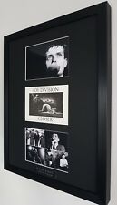 Ian Curtis Joy Division Framed Original Postcard Closer VERY RARE