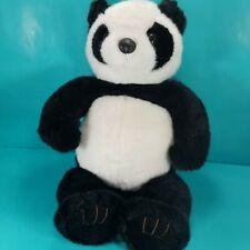 "Build a Bear Panda Bear Large Black White Plush Stuffed Animal BABW 19"" Soft"