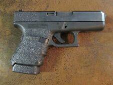 Black Textured Rubber Grip Enhancements for Glock Model 36