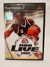 NBA Live 2002 - PS2 - Playstation 2 - Spiel - Game - OVP #H