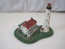 Danbury Mint Sandy Hook Historic American Lighthouse B7403
