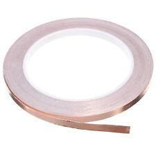 5mmx30M Single Conductive Strap EMI Shielding for Guitar Pedal Copper Foil Tape