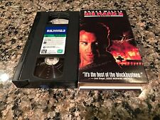 Die Hard 2 Rare Vhs! 1991 International Airport Hostage Action! Bruce Willis!