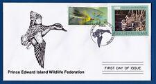 Canada (PEI04) 1998 Prince Edward Island Wildlife Federation Stamp FDC