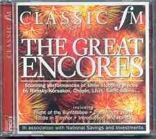 GREAT ENCORES: CLASSIC FM CD (2005) WIENIAWSKI CHOPIN LISZT WEBER SAINT-SAENS ++