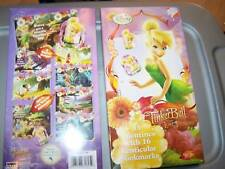 New Box of 16 Disney Tinkerbell Valentine's Day Cards w Bookmarks