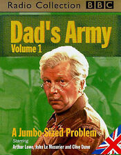 Dad's Army: v.1: Ten Seconds from Now/A Jumbo-Sized Problem/When Did You Last See Your Money?/Time on My Hands by Jimmy Perry, David Crofy (Audio cassette, 1990)