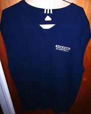 UNIVERSITY TOLEDO sweater vest large Rockets Ohio basketball embroidered Adidas