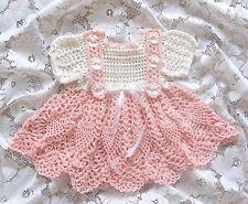 "Crochet Pattern ""Haleigh"" Baby Dress by REBECCA LEIGH - Newborn to 3 months"