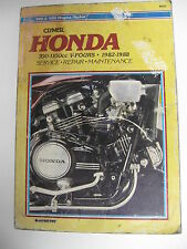 HONDA  700-1100cc V-FOURS 1982-1988 CLYMER SERVICE-REPAIR MANUAL 429 PAGES guide