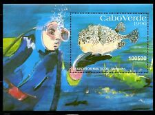 CABO VERDE, 1996, FISH, M/S. MNH,