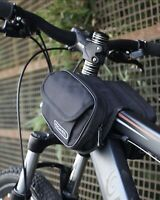 Bicycle bag, front beam bag, saddle bag, front bag,Tube Rear mountain bike bag