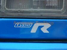 """2x 3"""" 7.6cm decal sticker trunk fender for r type impreza wrx gc8 22b sti ra jdm"""