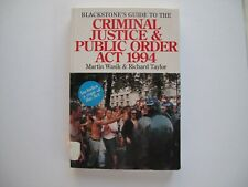 Blackstone's Guide to the Criminal Justice & Public Order Act 1994