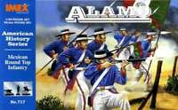 Imex Models IMX-717 1/32 Alamo Mexican Round Top Infantry Figure  761963007177