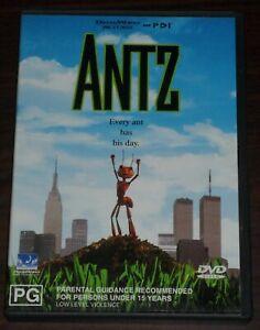 DVD. Antz. Dreamworks. Region 4