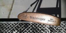 SLAZENGER BC SERIES 706 BERYLLIUM COPPER BLADE PUTTER GOLF CLUB EXCELLENT CONDIT