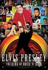Elvis Presley LP Covers Metal Sign   290mm x 200mm  (nm)