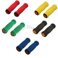 Bike Short Foam Grips WITH REFLECTOR Soft MTB Lowrider BMX Bike Beach Cruiser