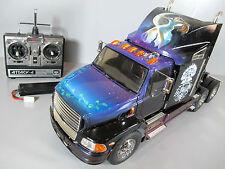 Custom graphic Paint Tamiya RC 1/14 Semi Ford Aeromax Truck Futaba ESC RTR