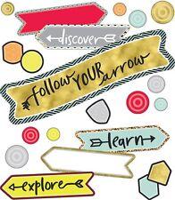 CD 110354 Aim High Follow Your Arrow Mini Bulletin Board Set Classroom Decor