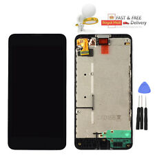 For Nokia Lumia 630 LCD Display Touch Digitizer Screen + Frame Replacement