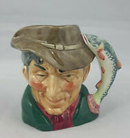 Royal Doulton Character Small Jug Poacher D6464 - Small