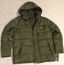 US POLO ASSN Mens Puffer Jacket Size M
