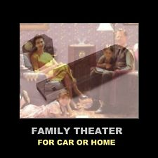 Family Theater. 529 Inspirational Old Time Radio Shows For Your Car Or At Home!