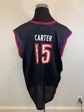 VTG 1990's Champion Vince Carter #15 NBA Jersey Toronto Raptors Adult XL 48