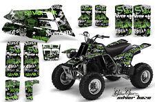 AMR Racing Yamaha Banshee 350 Decal Graphic Kit ATV Quad Wrap  87-05 SLVR HZE G