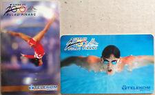Malaysia Used Phone Card : 2 pcs SUKMA VIII 2000 Pulau Pinang