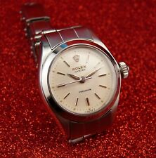 "PRISTINE "" ROLEX "" OYSTER  PRECISION LADIES MANUAL WIND, REF# 6410 FROM 1966 !!"