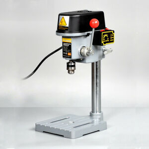Tabletop Bench Drill Press Stand Table Drilling Workbench For Wood Plastic