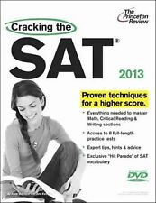 Cracking the SAT with DVD, 2013 Edition (College Test Preparation)-ExLibrary