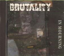 Brutality(CD Album)In Mourning-New