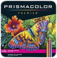Prismacolor Premier Soft Core Colored Pencils, Assorted Colors, Set of 48 Sealed