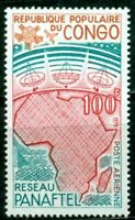 Congo Scott #C247 MNH Pan-African Telecoms Network Map $$